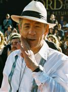 Ian McKellen, providing the voice for Iorek Byrnison